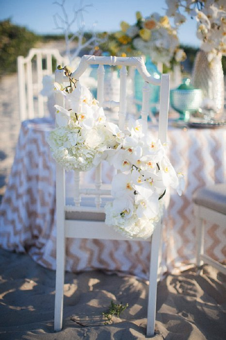 The Couture Little Mermaid Beach Ceremony Inspiration