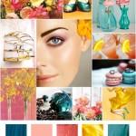 Spring colour scheme
