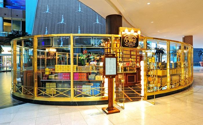 Twg tea salon et boutique dubai mall grand wedding tea for Boutique spa dubai