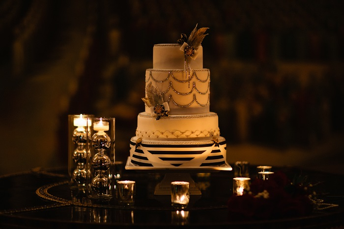 gatsby wedding cake great gatsby inspired wedding photo shoot a club 14652