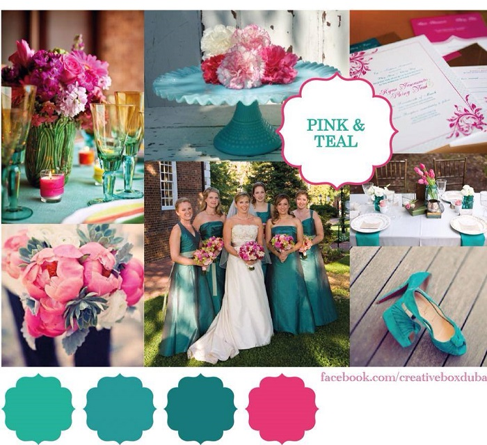 Wedding Colour Scheme Bride Club MEs Pick Of The Week