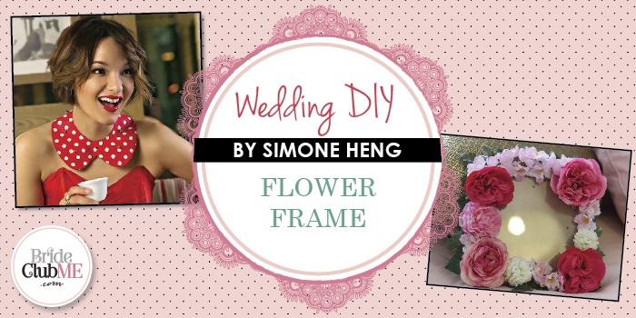 Wedding DIY – DIY Floral Frame