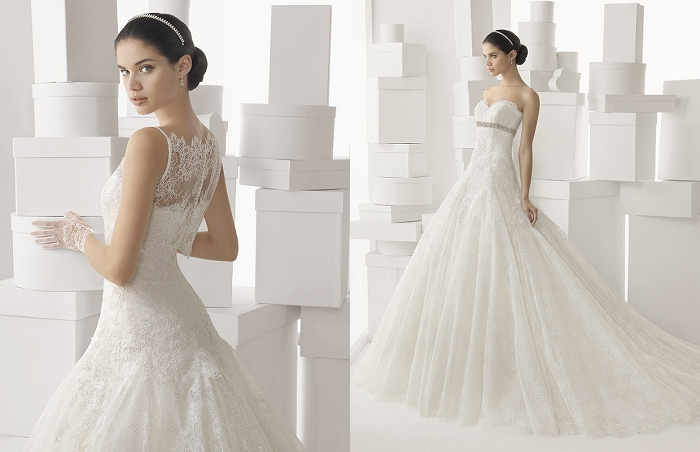International wedding dress designer 39 rosa clara 39 makes for International wedding dress designers