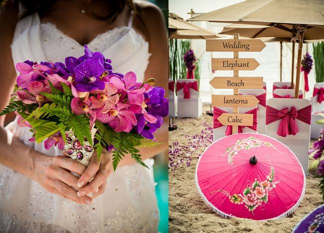 A Colourful Destination Wedding in Beautiful Thailand