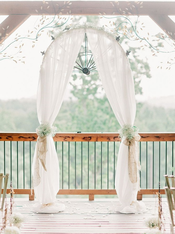 Wedding ceremony arch canopy inspiration for Arch decoration for wedding