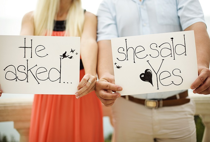 Amanda and James Beach Proposal