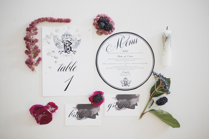 Gothic Romance | A Bride Club ME Styled Shoot
