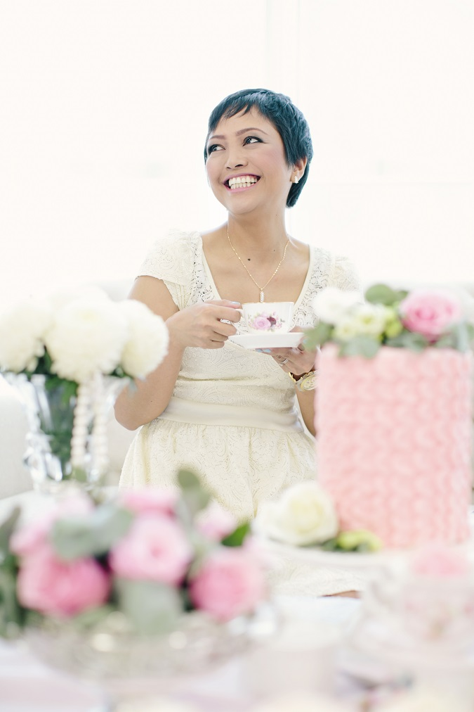 A Chat With The Pink Pamper Package WINNER   Aileen Ante