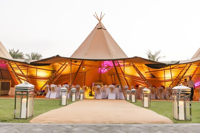 Under The Moonlight | Halloween Wedding In Dubai