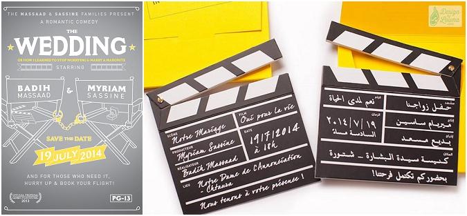 Romantic movies a film obsessed wedding in lebanon 2015 01 02001 stopboris Choice Image
