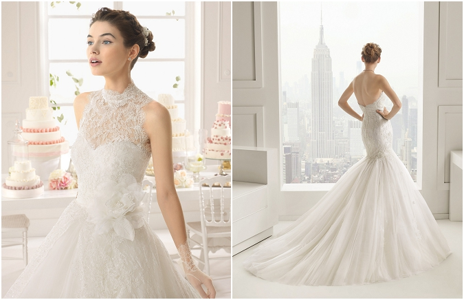 Rosa Clara 2015 arrives at The Bridal Showroom, Dubai
