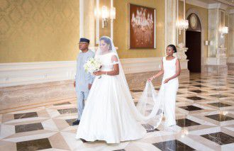 A Heartfelt Nigerian Wedding at the Ritz Carlton Abu Dhabi