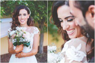 An Intimate 'Backyard' Garden Wedding In Dubai
