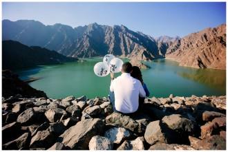 An Engagement Shoot: Hatta Mountains