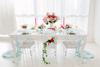 Tablescape Inspiration: Summer Romance by Jive Events