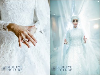 An All-White Arabic Wedding at the JW Marriott Marquis, Dubai