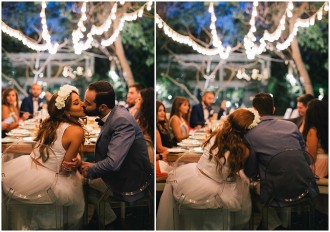 An Intimate Fairy Light Wedding Reception|The Farm, Dubai