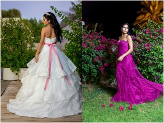 Breast Cancer Awareness Month Photoshoot With Sponsa Bridal