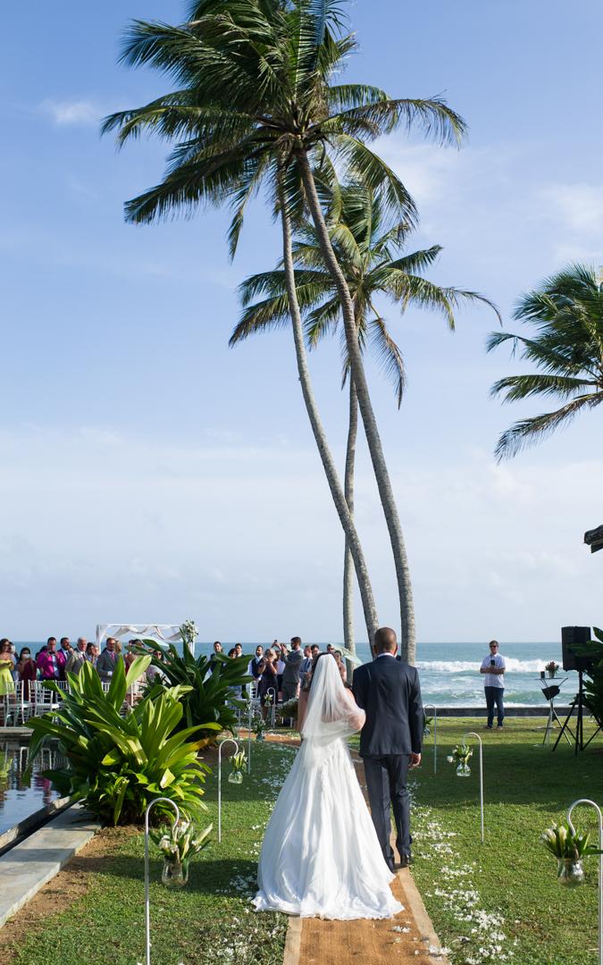 A Beach front destination wedding in Sri Lanka