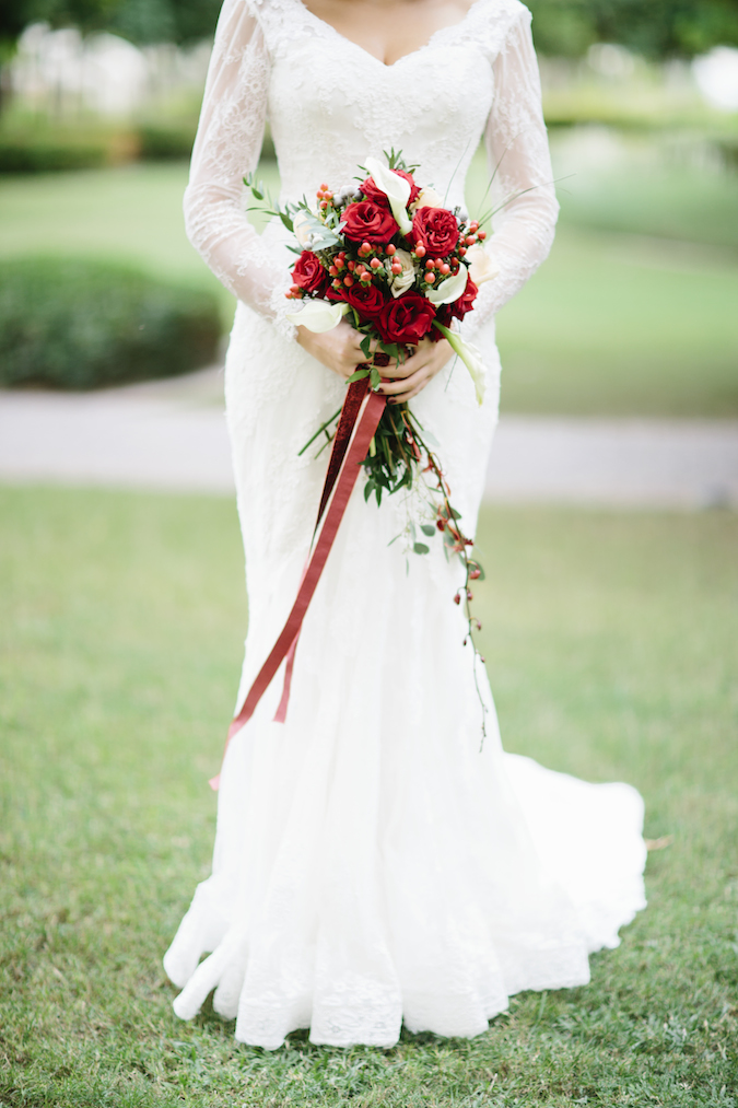 Valentines wedding inspiration
