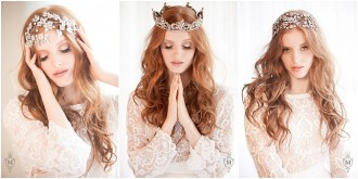 New Arrival: Justine M Couture Headpieces at The Bridal Showroom, Dubai
