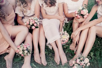 Dressing Your Bridesmaids | Expert Advice from Kelly Lundberg