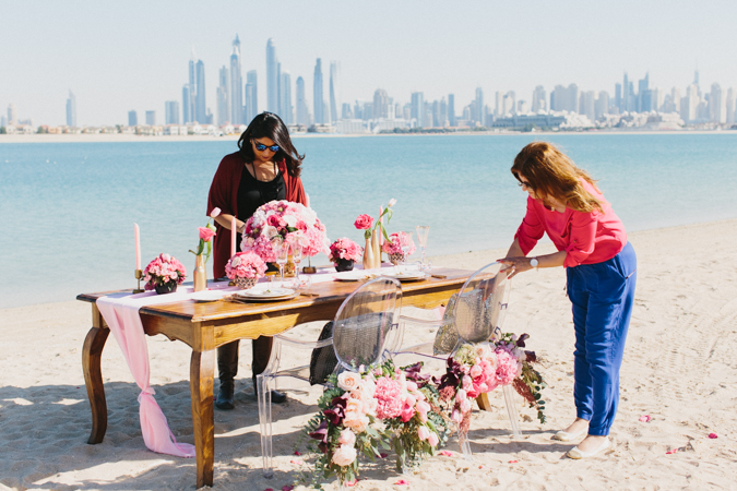 A Styled Shoot In Dubai, With The Arabian Wedding Planning Academy