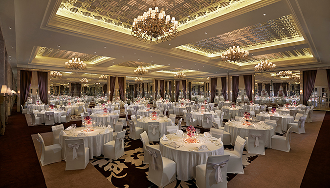 Waldorf Astoria Dubai May 2014 Grand Ballroom