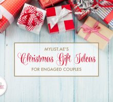 MyList.ae's Christmas Gift Ideas For Engaged Couples