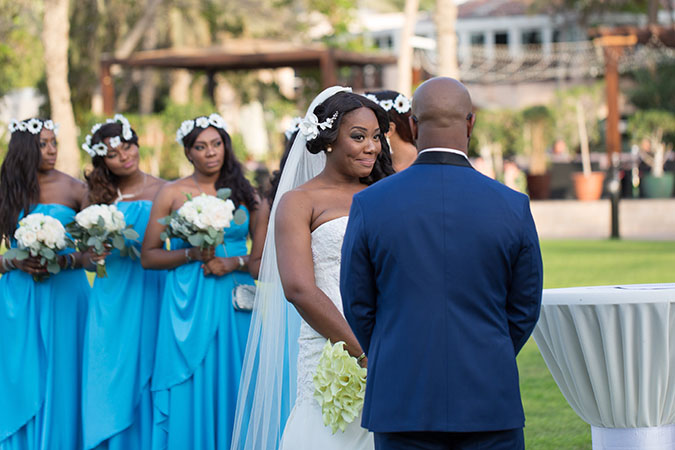 Nigerian destination wedding Dubai ceremony