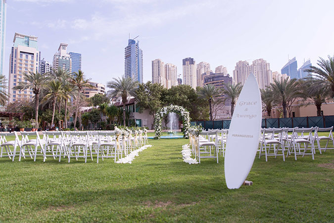 Nigerian destination wedding Dubai set up