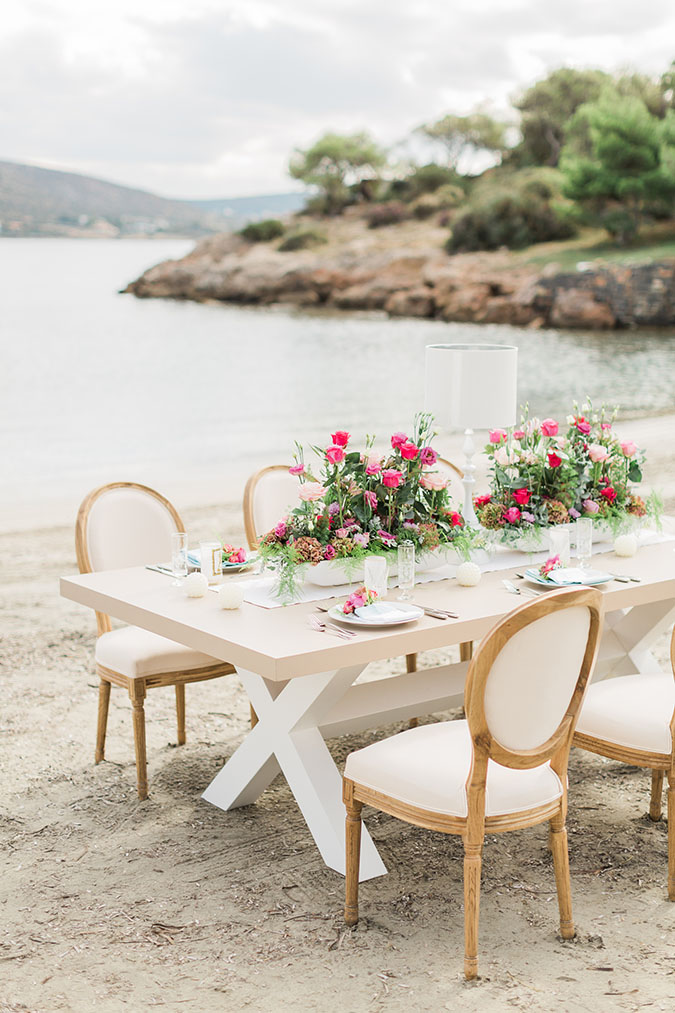 A Bohemian Romance Styled Shoot In The Athens Riviera