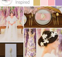 Wedding Colour Scheme { Versailles-Inspired }
