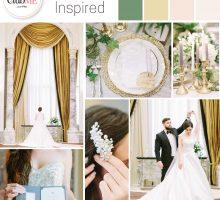 Wedding Colour Scheme { Beaux-Arts Inspired }