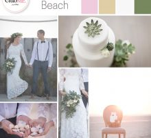 Wedding Colour Scheme { Bohemian Beach }