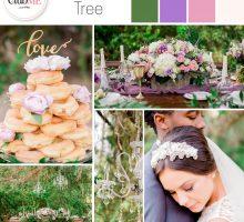 Wedding Colour Scheme { Natural & Regal }