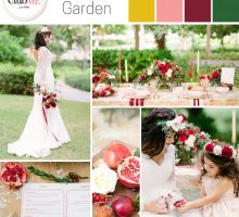 Wedding Colour Scheme { Enchanted Garden }