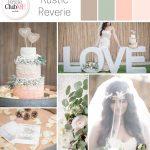 rustic wedding colour scheme