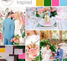 Wedding Colour Scheme { Tropical-Inspired }