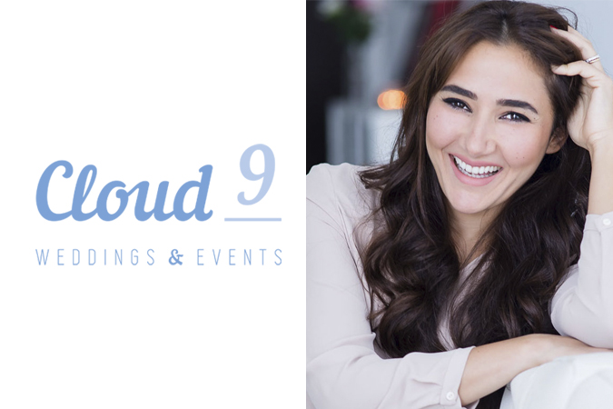 Above: Mennat Al Hammami, founder of Cloud 9 Weddings & Events.
