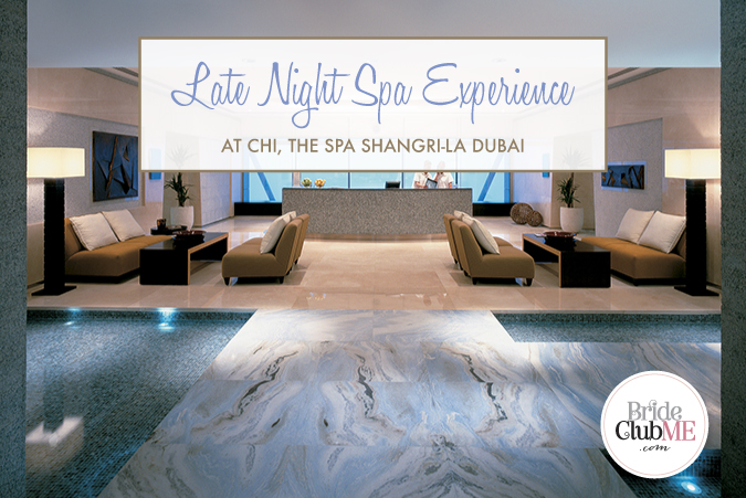 Late Night Spa Experience At CHI The Spa, Shangri-La