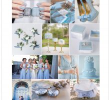 Wedding Colour Scheme { Something Blue }