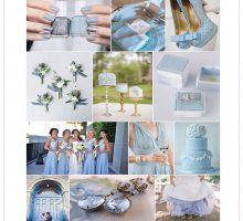 Wedding Colour Scheme { Something Blue }
