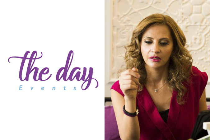 <strong>Above:</strong> Rania Anklis, Founder of The Day Weddings & Events.