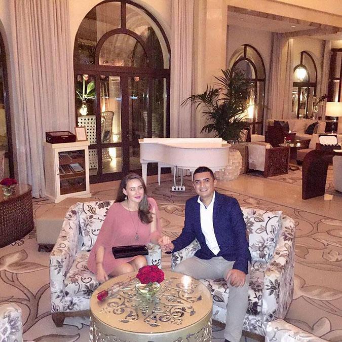 dubai real bride proposal story
