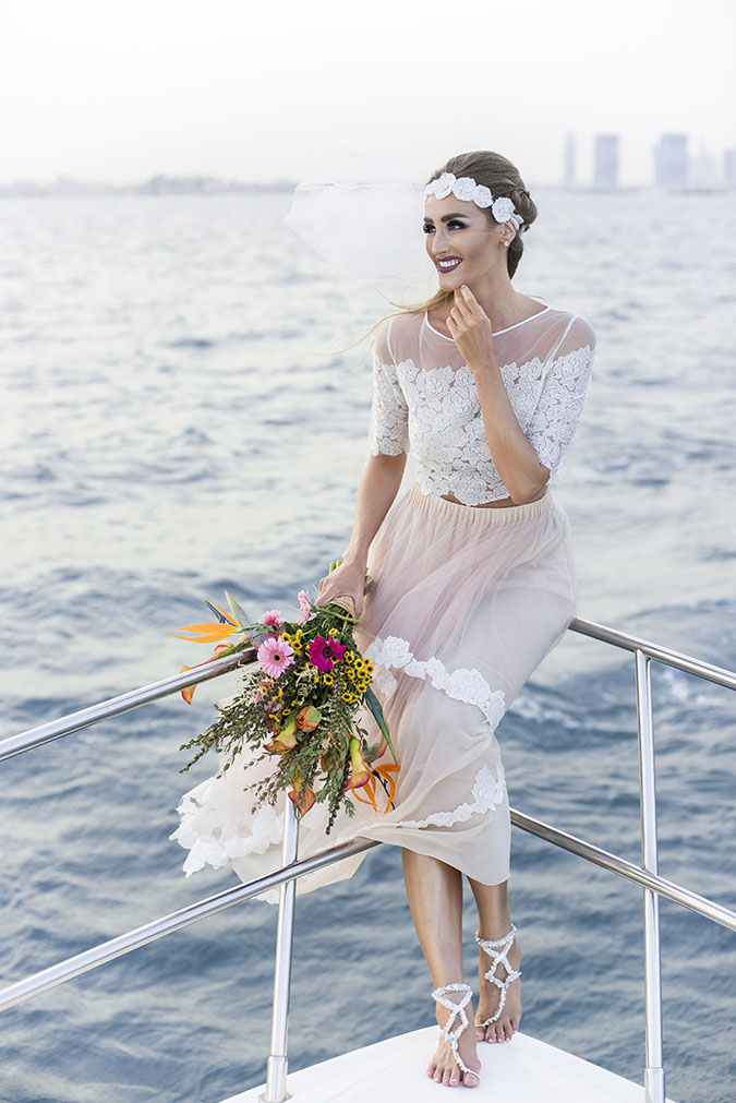 Tropical Yacht Wedding 54