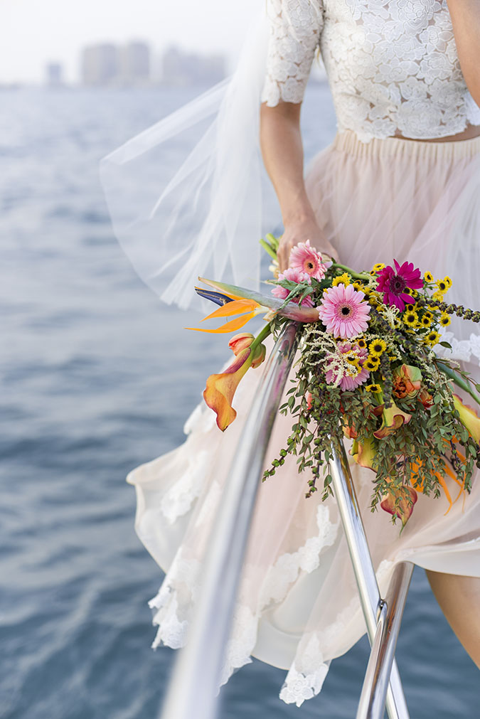 Tropical Yacht Wedding-55