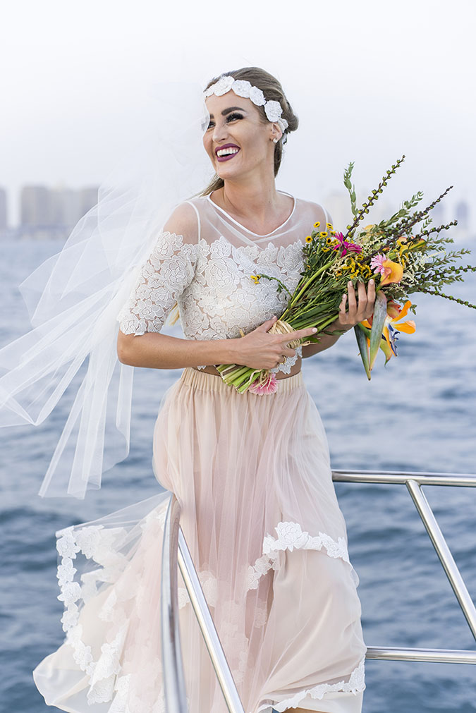 Tropical Yacht Wedding 57
