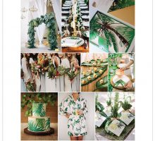 Wedding Colour Scheme { Tropicana }