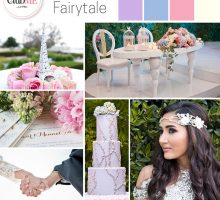 Wedding Colour Scheme { Dreamy Fairytale Inspired }